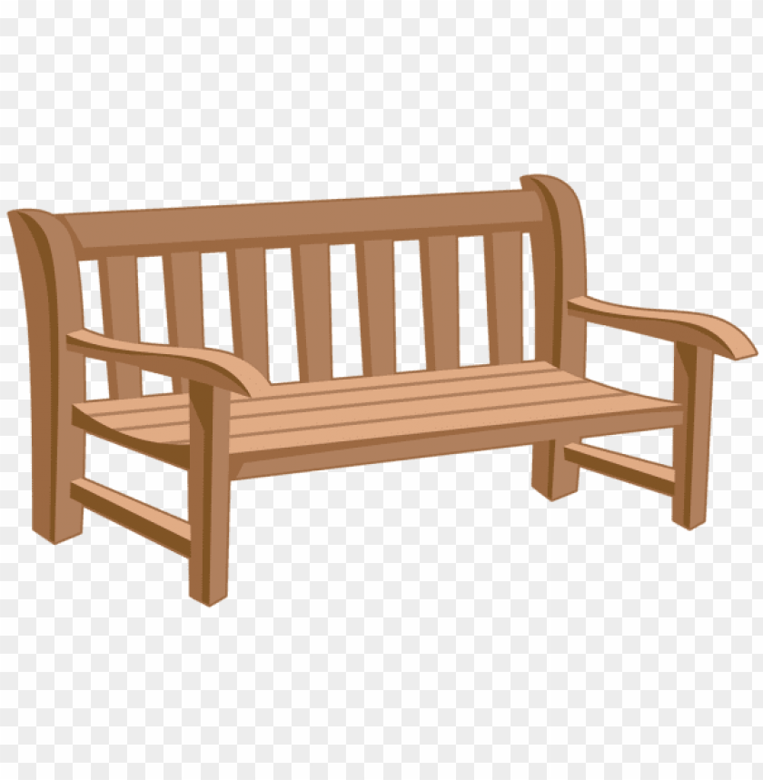Download park bench clipart png photo.