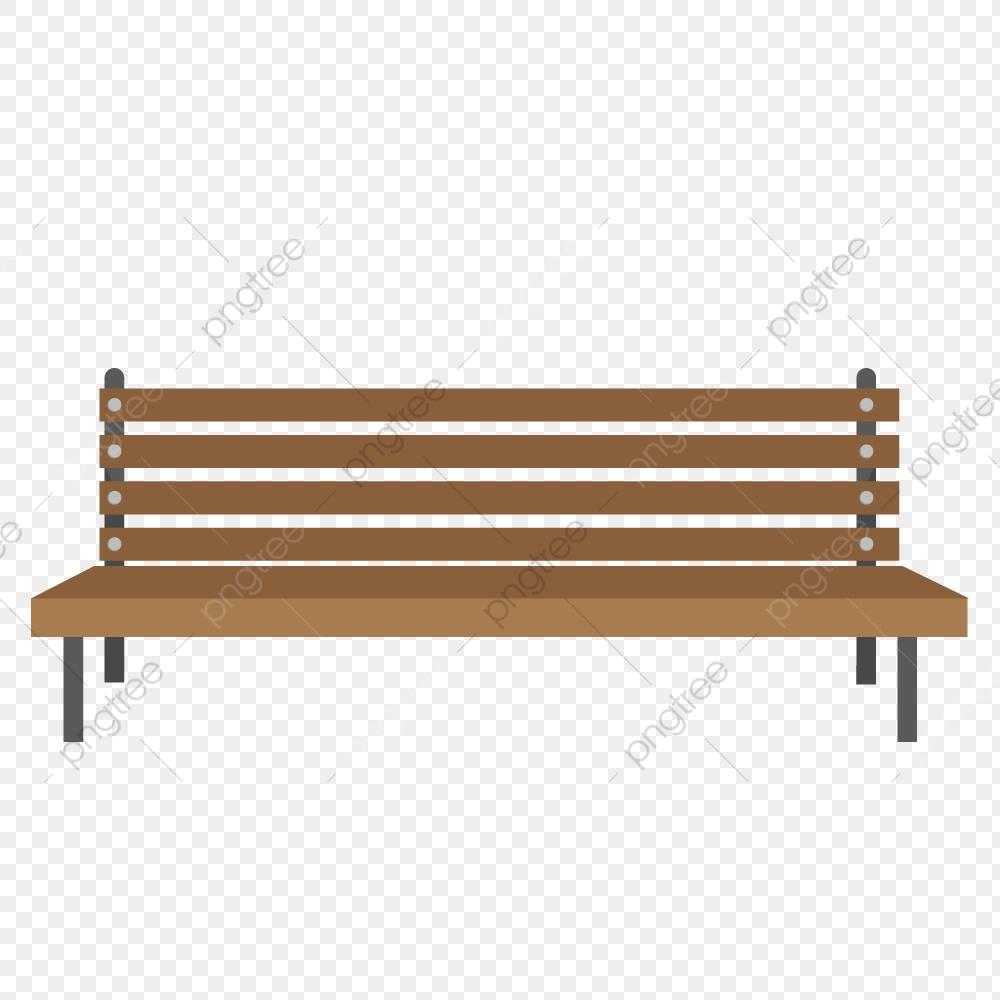 Chair Seat Park Bench Cartoon Illustration, Creative Cartoon.