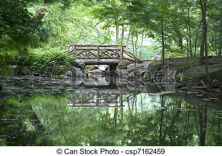 Stock Photographs of Central Park Bridge.
