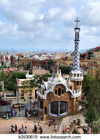 Stock Photograph of Barcelona landmark.