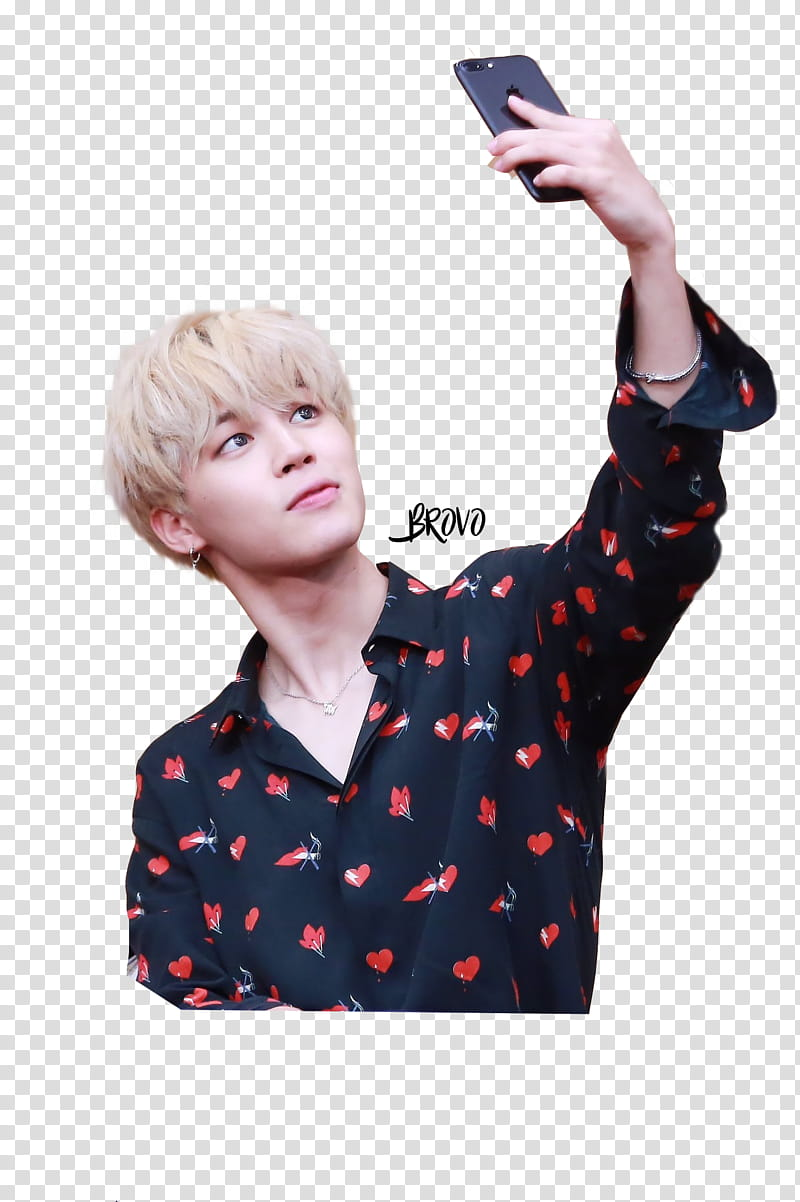 PARK JIMIN BTS, BTS member taking transparent background PNG.