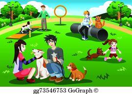 Dog Park Clip Art.