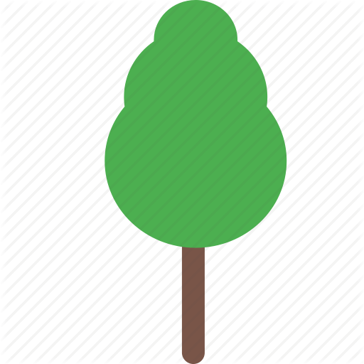 Garden, nature, park, plant, tree icon.
