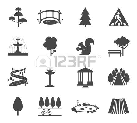 35,289 Park Plant Stock Vector Illustration And Royalty Free Park.