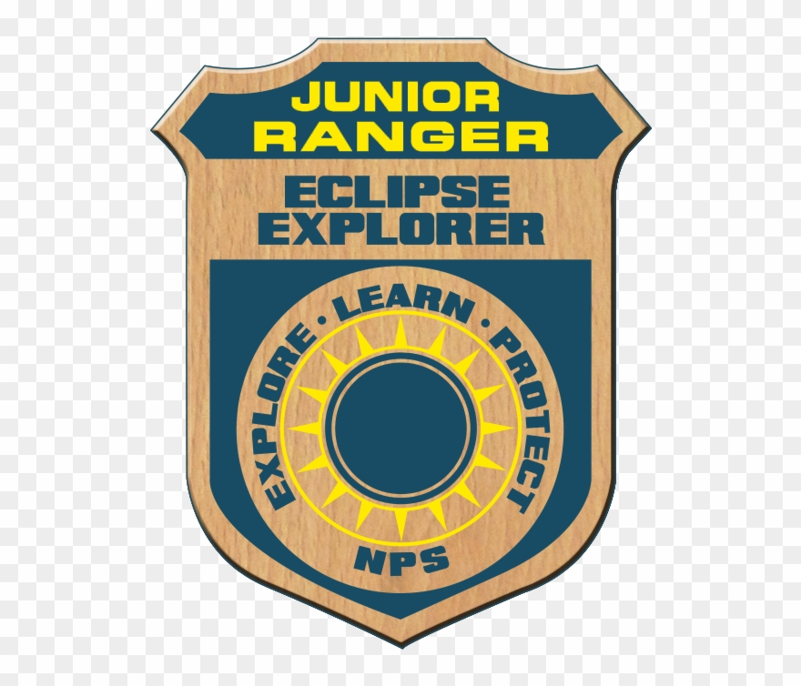 Junior Ranger Eclipse Explorer Badge.