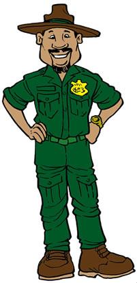 Park ranger clip art.