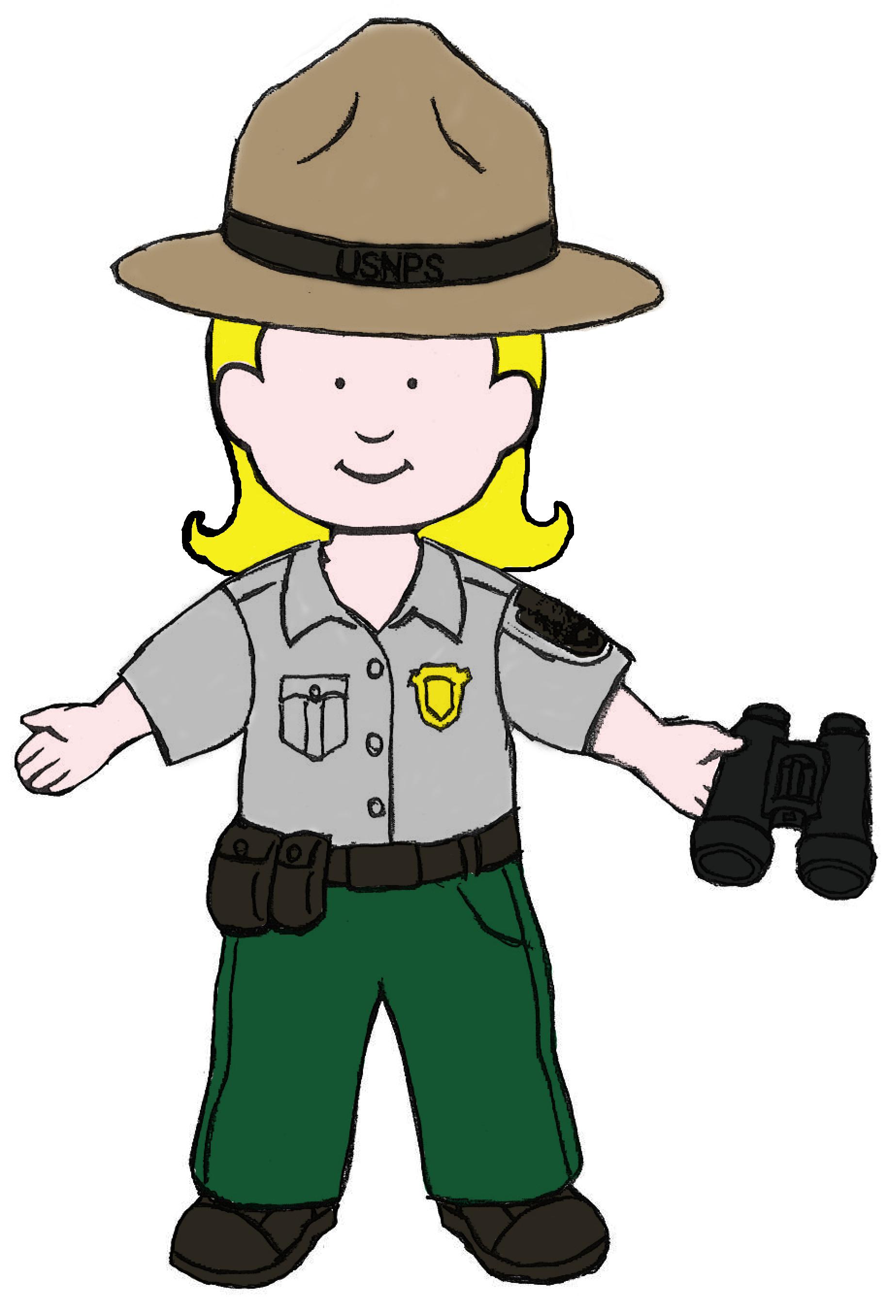 Park ranger clipart 9 » Clipart Station.