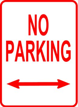Free clipart no parking.