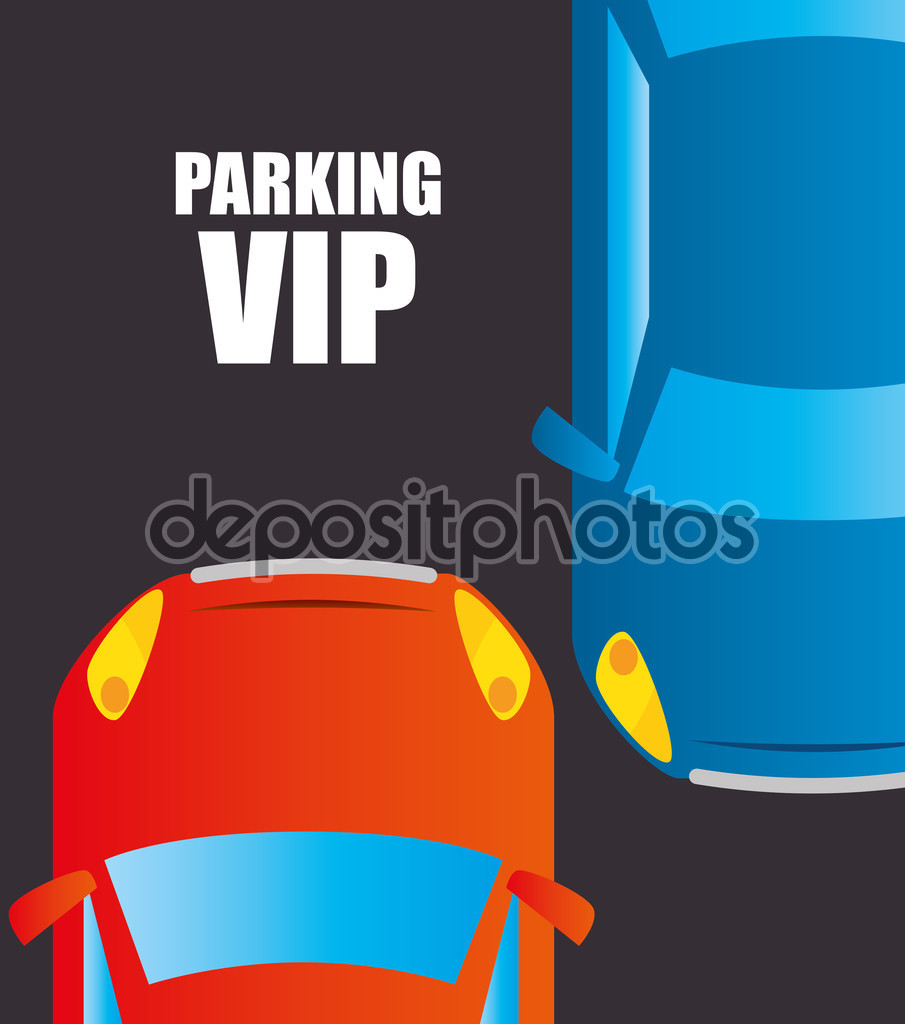 Parking or park zone design — Stock Vector © yupiramos #83705762.