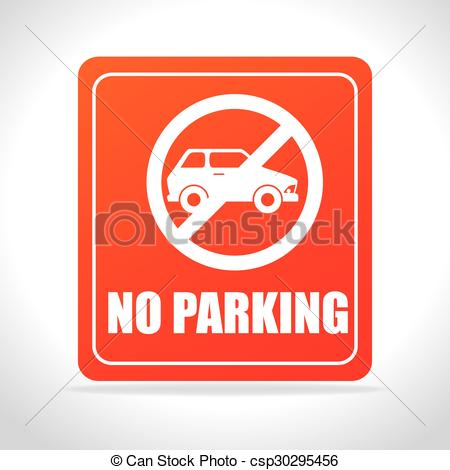 Clipart Vector of Parking or park zone design, vector illustration.