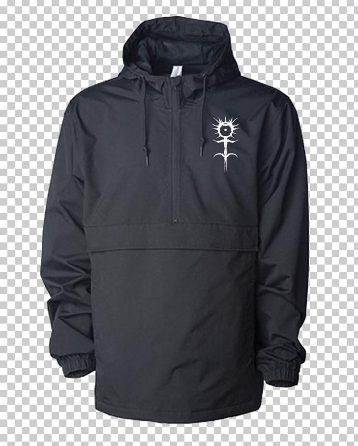 Hoodie Parka Windbreaker Jacket Clothing PNG, Clipart, Black.