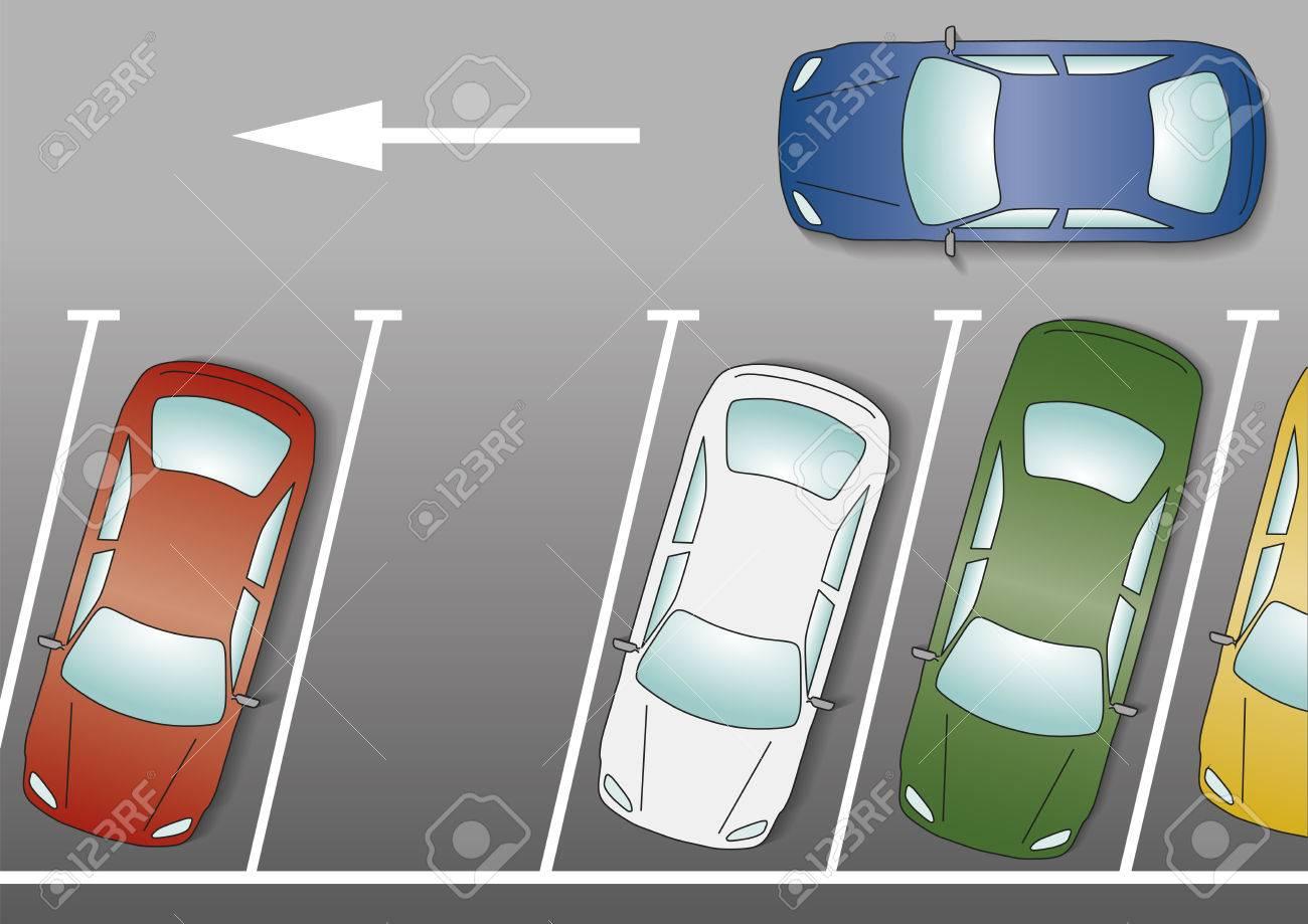 Parking lot clipart vehicle parking.