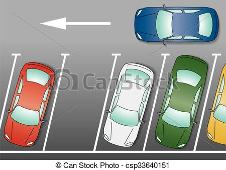 Parked Car Clipart.