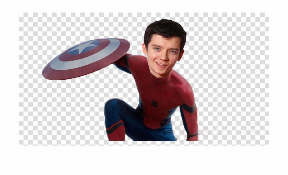 Peter Parker Transparent Clipart Tom Holland Spider.