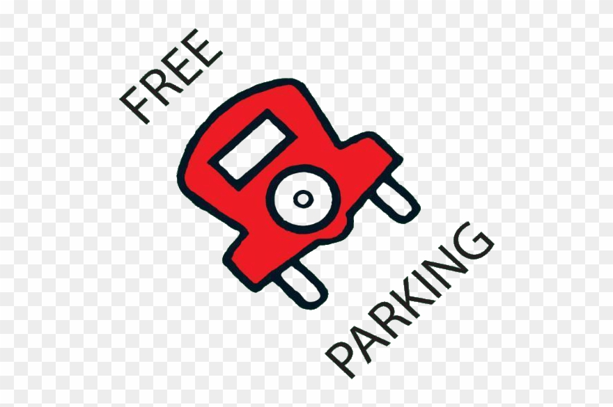 Monopoly Free Parking Logo Clipart (#25681).