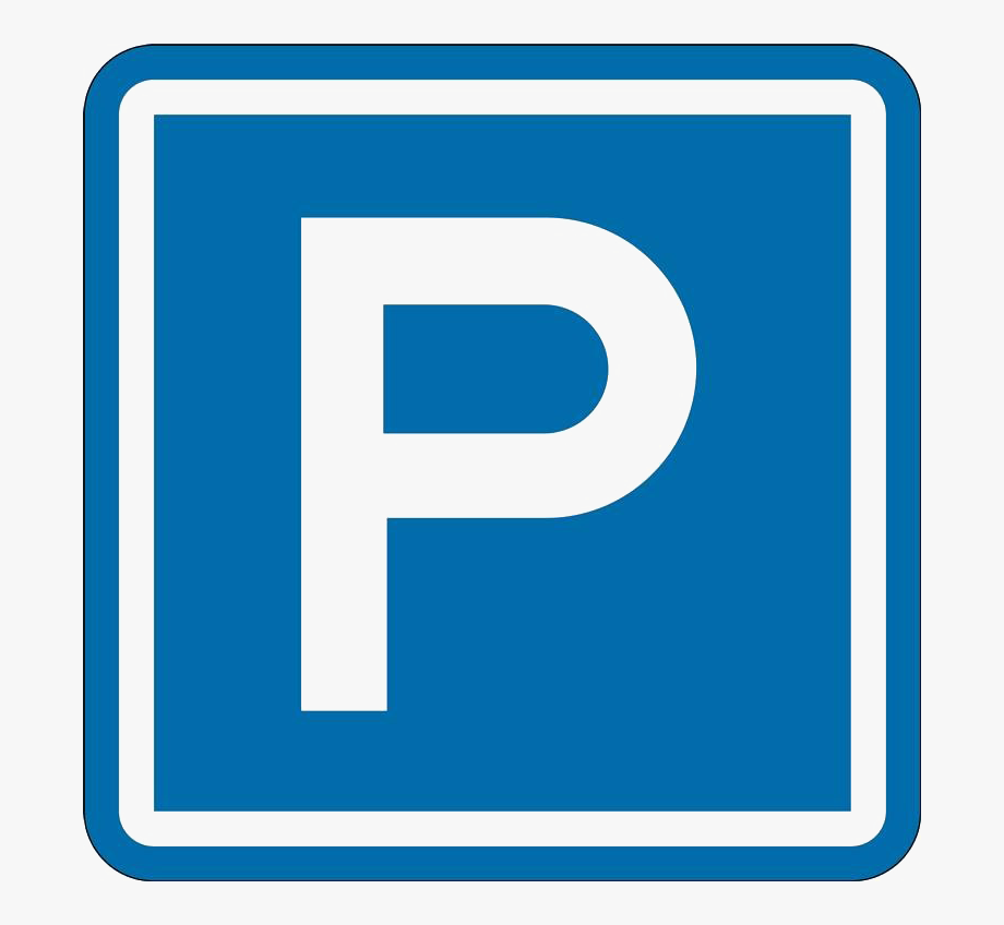 Parking Only Sign Png Clipart.