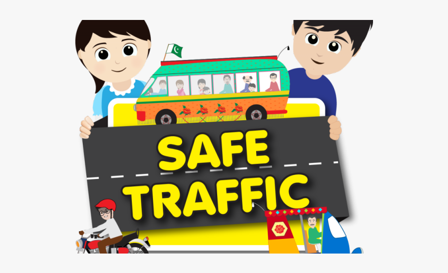 Safe Clipart Road Safety.