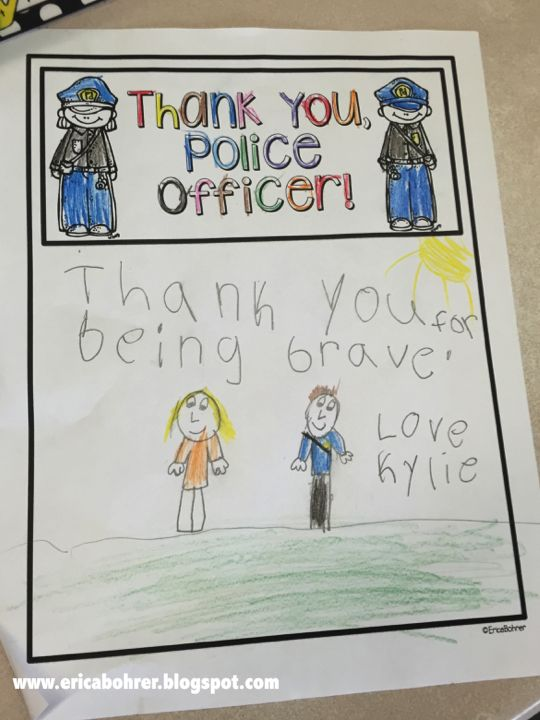 Thank You Gifts For Police Officers Gift Ideas