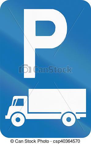 Stock Illustrations of Belgian regulatory road sign.