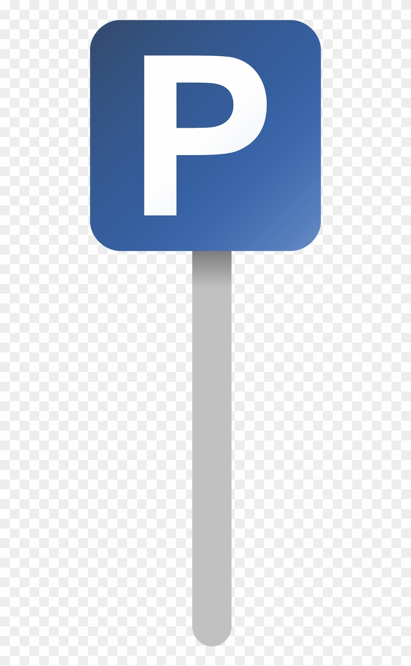 Parking Sign Parking Place Blue Png Image.