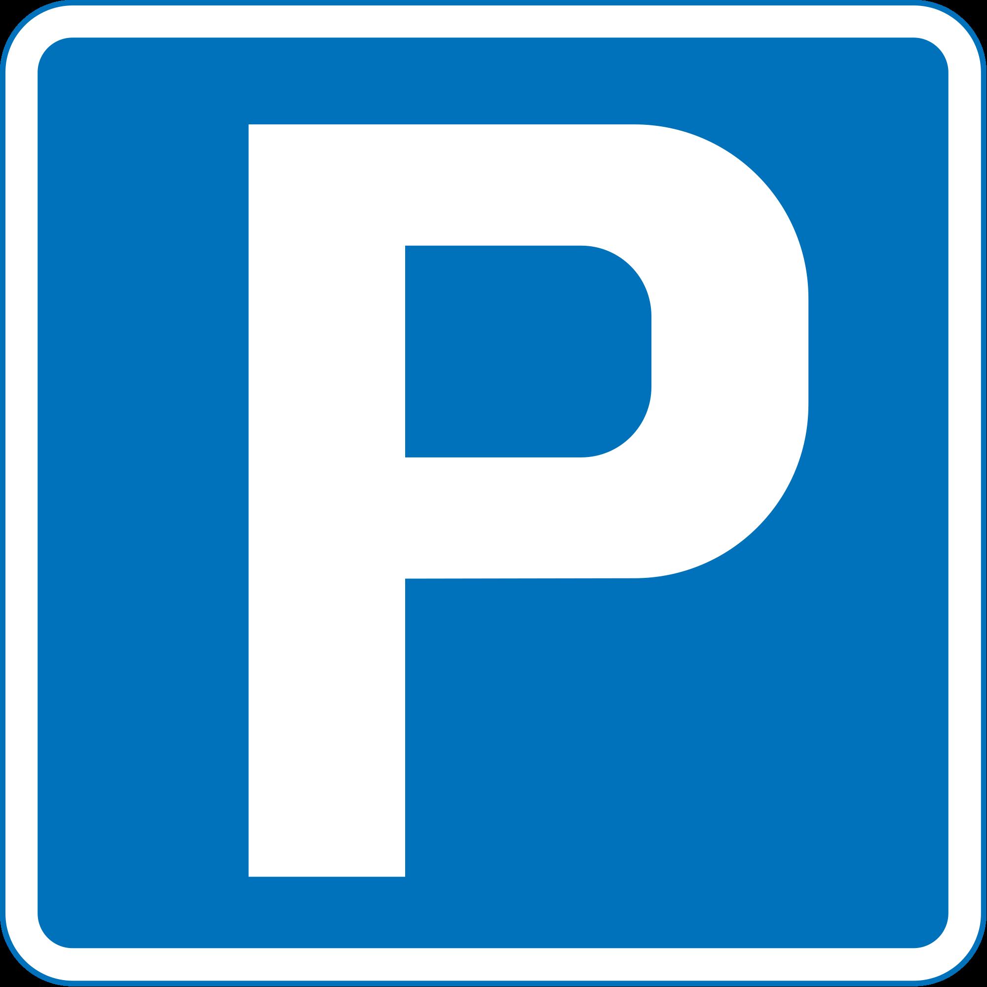 A blue mood over car parking.