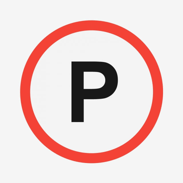 Vector Parking Sign Icon, Parking Sign Icon, Parking Sign.