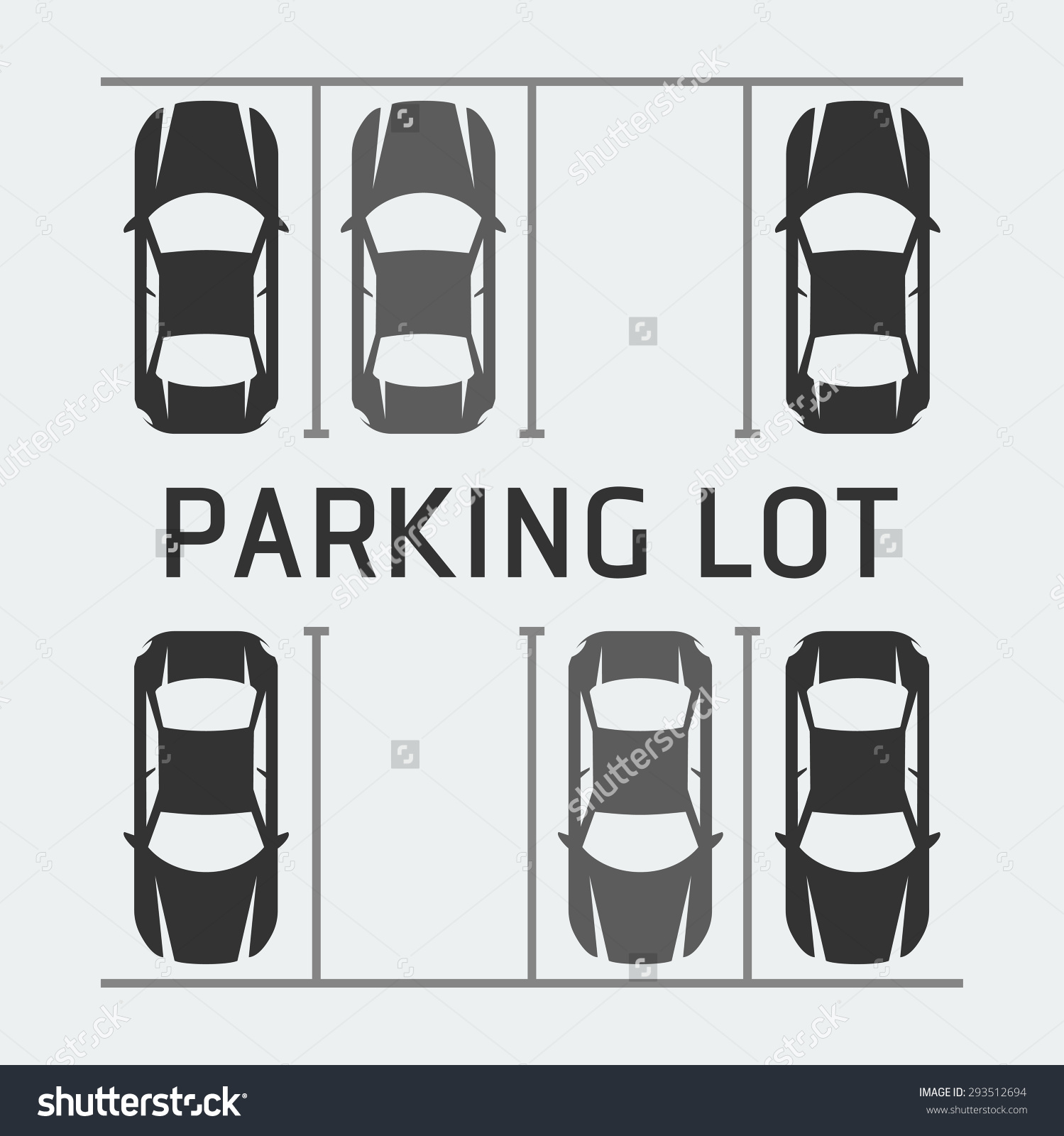 Parking space clipart - Clipground