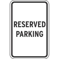 Reserved Parking Spot Clipart.