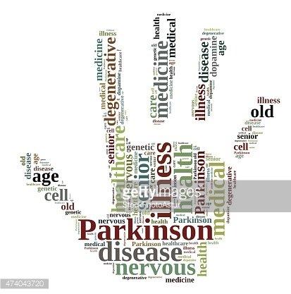 Parkinson. Clipart Image.