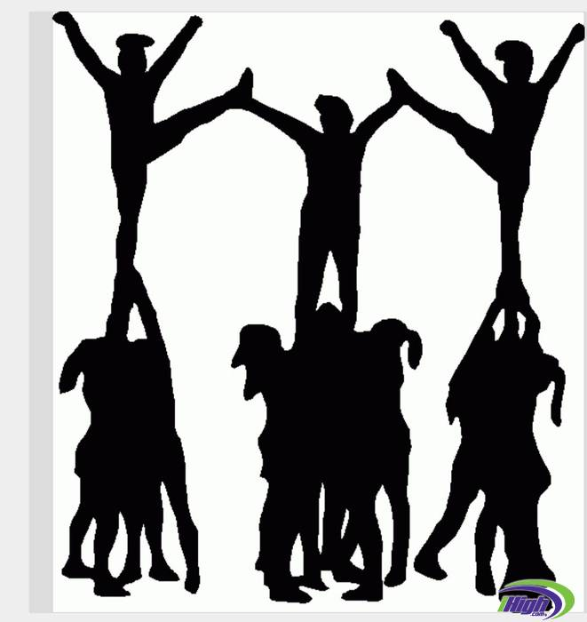 Cheerleading Images Clip Art.