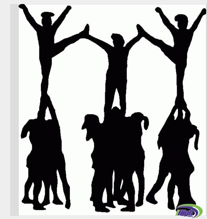 Cheerleading Images Clip Art.