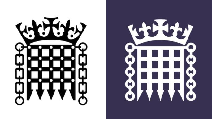 Spot the difference: parliament\'s portcullis logo redesigned.