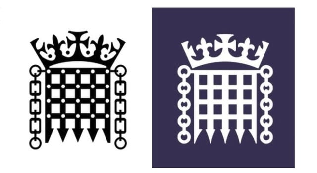 Parliament spends £50,000 on a new logo.