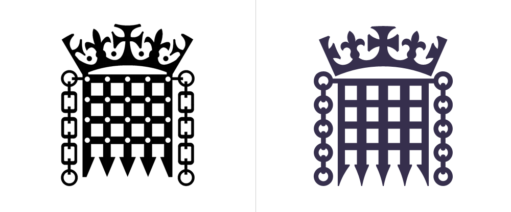 Brand New: New Logo and Identity for UK Parliament by SomeOne.