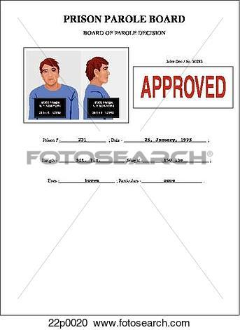 Clipart of parole papers 22p0020.
