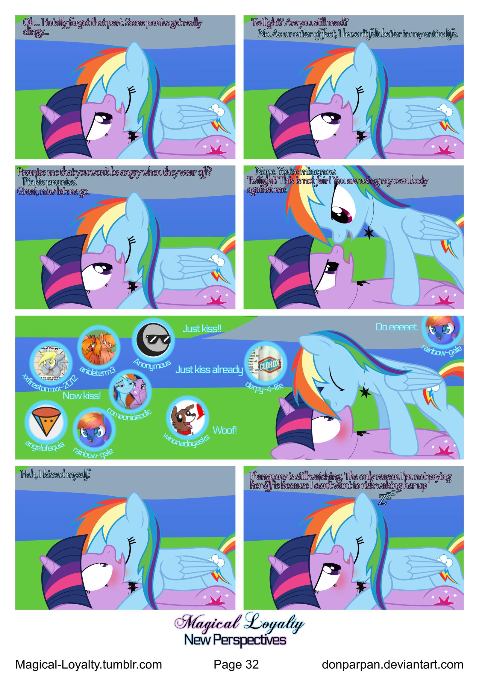 Pony Comics on TheTWIDASHGang.