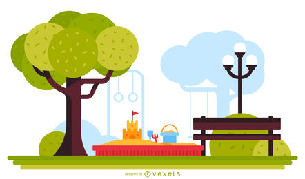 Park Vector & Graphics to Download.