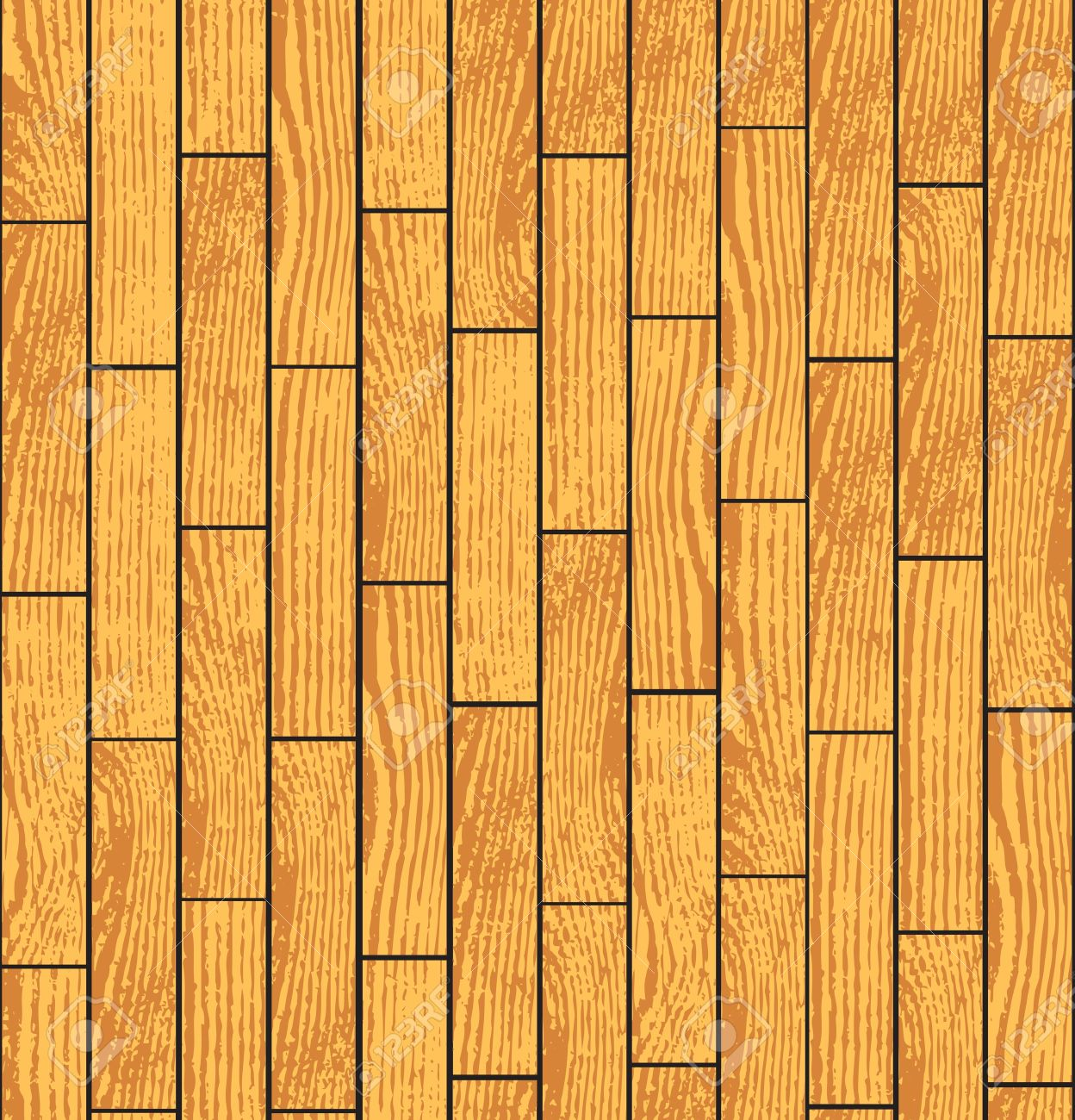 Grunge Wood Parquet Texture, Seamless Background Royalty Free.