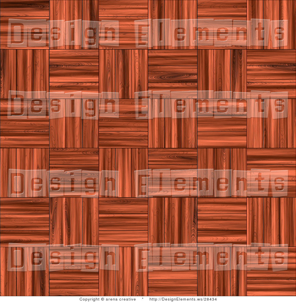Design Element Clipart of a Weaved Parquet Wood Pattern Background.