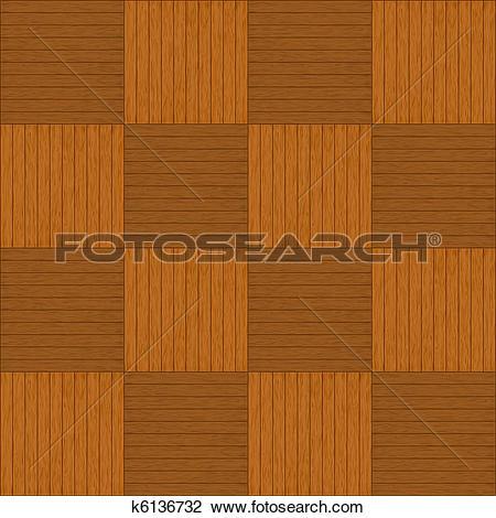 Clipart of Wooden parquet k6136732.