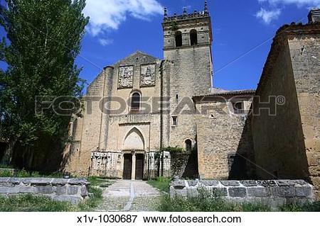Picture of Church, monastery of Santa Maria del Parral, Segovia.
