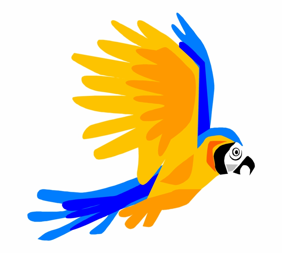 Free Parrot And Macaw Clipart.