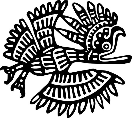 Ancient Mexico Motif Clip Art at Clker.com.