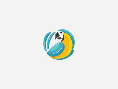 Parrot logos.