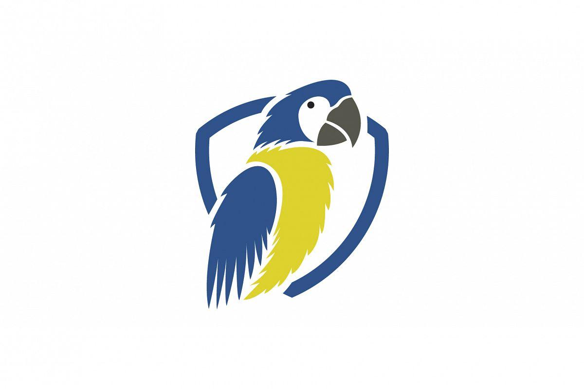 Parrot Bird Logo.