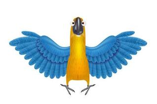 Free Parrot Cliparts in AI, SVG, EPS or PSD.