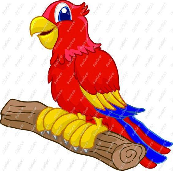 free parrot clip art.