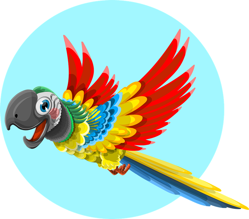 Free to Use & Public Domain Parrot Clip Art.