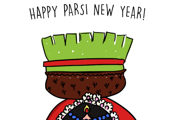 33 Beautiful Parsi New Year Greeting Pictures And Images.