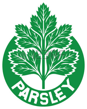 538 Parsley Label Stock Vector Illustration And Royalty Free.